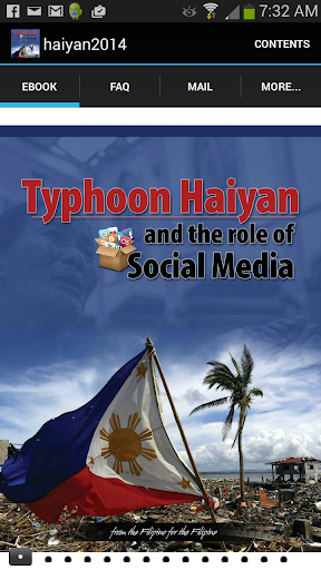 Typhoon Haiyan social media