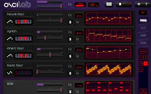 Oscilab Pro - Step Sequencer