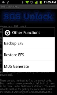 SGS Unlock PRO (NEEDS ROOT) - screenshot thumbnail