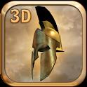 King Leonidas 3D LWP logo