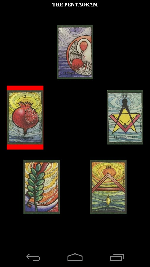 Masonic Tarot- screenshot