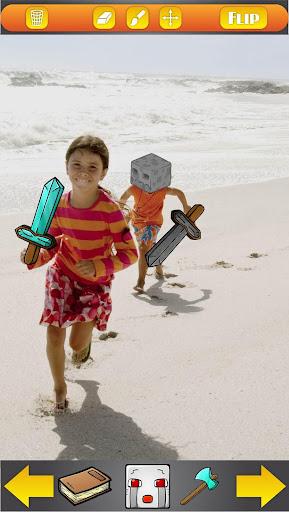 照片效果的Minecraft
