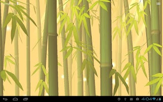 Screenshot of Bamboo Forest Free L.Wallpaper