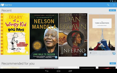 Google Play Books screenshot 1
