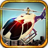 911 City Police Helicopter 3D