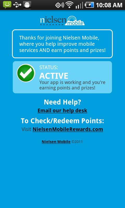 Nielsen Mobile App - screenshot