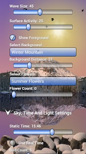 Mountain Lake Live Wallpaper - screenshot thumbnail