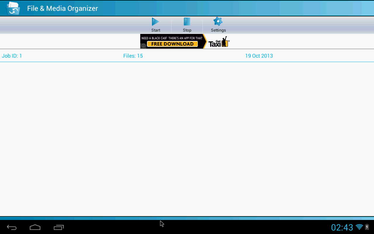 File & Media Organizer- screenshot