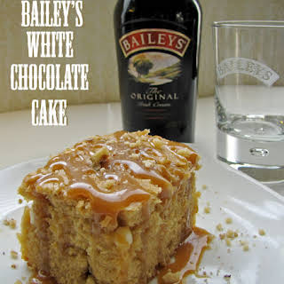 Bailey's and Blonde Cake.