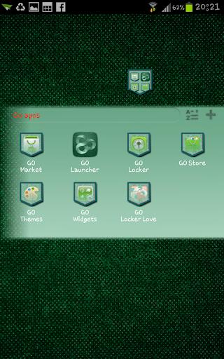 【免費個人化App】Jeans Green Go Launcher Theme-APP點子