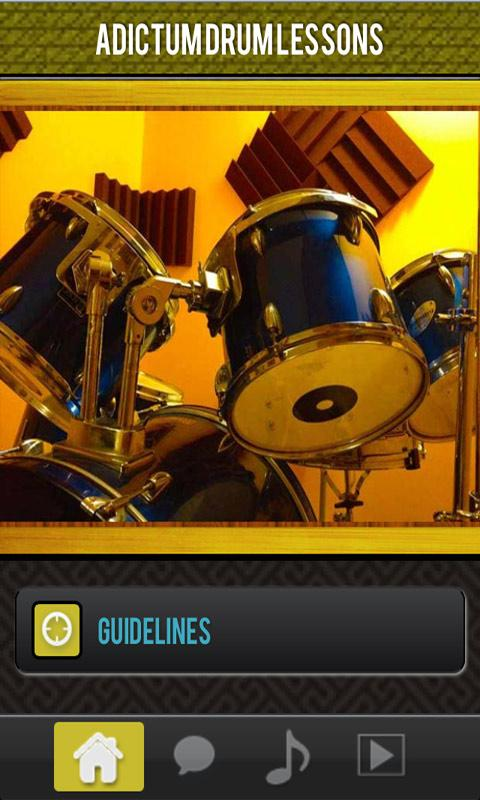 Adictum Drum Lessons Pro - screenshot