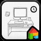 workroom Dodol launcher theme icon