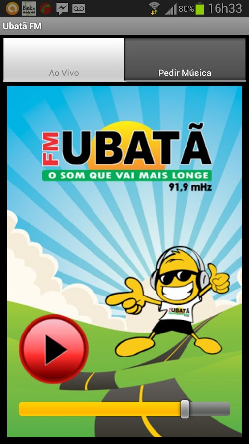 Ubatã FM - screenshot
