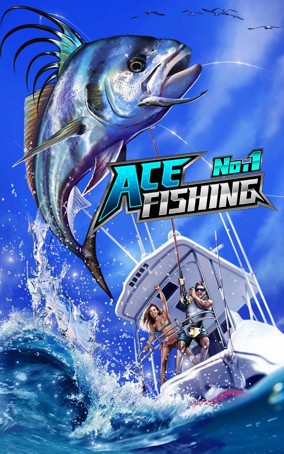 Ace fishing wild catch android apps on google play for Fishing tournament app