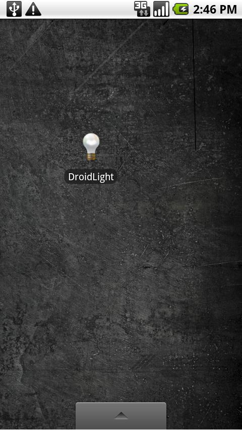 Droidlight LED Flashlight - screenshot
