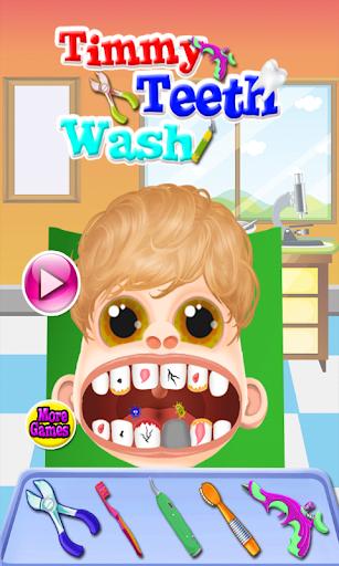 完美的牙齒醫生遊戲
