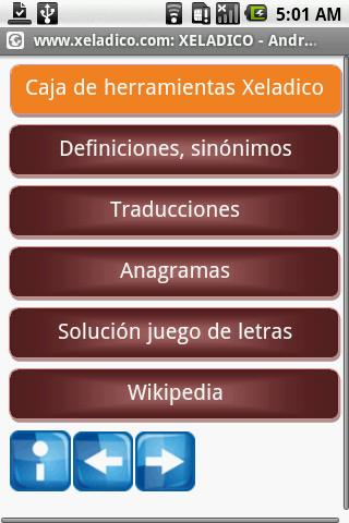 Diccionarios gratis - screenshot