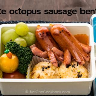 Cute Octopus Sausage Bento