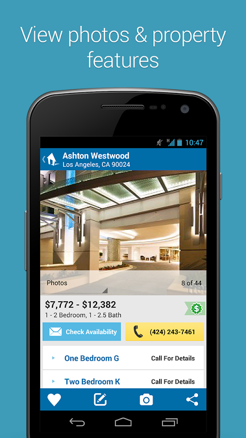 Rent.com Apartment Homes - screenshot