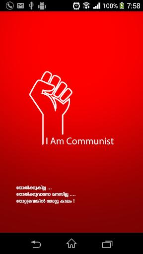 I am communist
