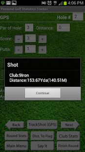 PGST Golf GPS & Scorecard Free- screenshot thumbnail