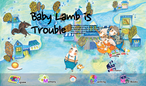 Baby Lamb is Trouble