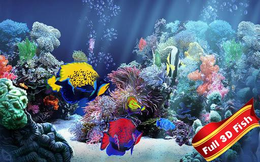 3D Fish Tank Live Aquarium