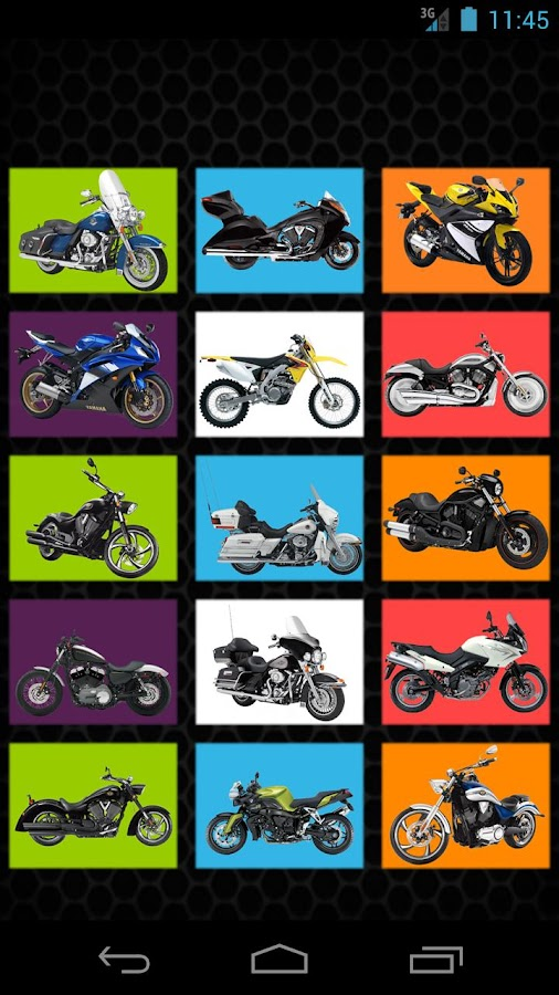 Motorcycles for Kids- screenshot