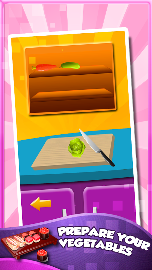 Sushi Maker - screenshot