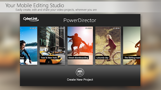 PowerDirector Video Editor App Screenshot 2
