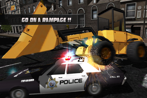 Bulldozer Rampage Racing 3D