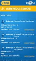 Screenshot of SEBRAE