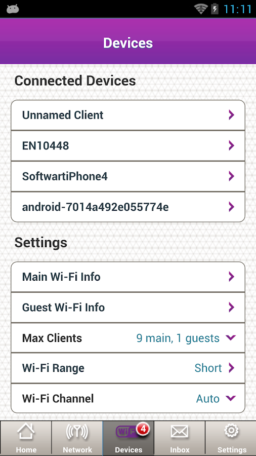 NETGEAR AirCard- screenshot