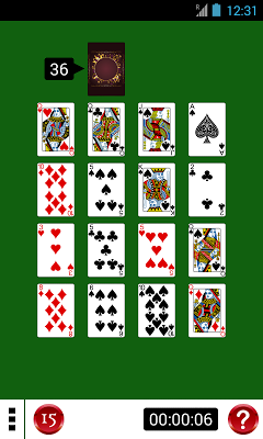 DroidGOX Solitaire Card Games - screenshot