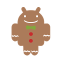 Gingerbread (ADW Theme) icon