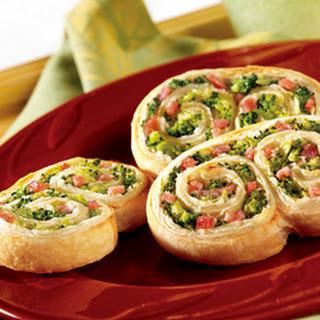 Ham & Broccoli Swirls