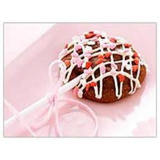 Sweetheart Chocolate Lollipops.