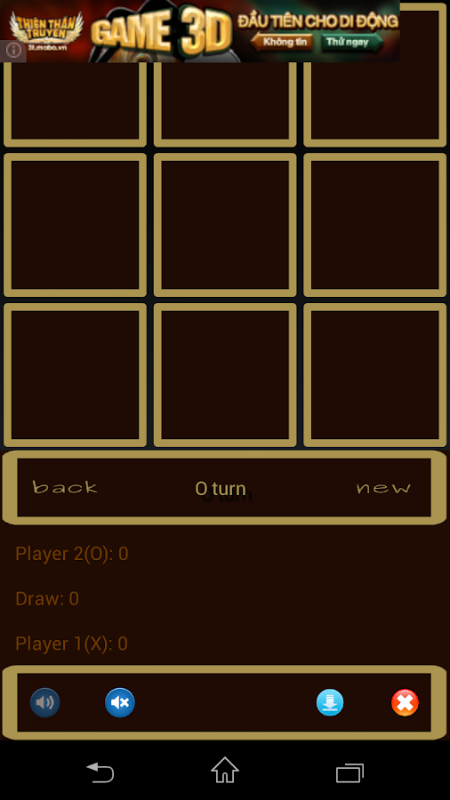TicTacToe Free - screenshot