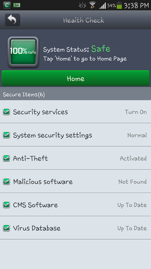 Comodo Mobile Security - screenshot
