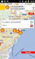 Screenshot of Shell, Estaciones de Servicio.
