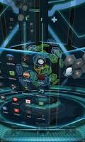 Screenshot of Next Technology Theme 3D LWP