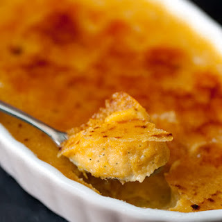 Pumpkin Crème Brûlée