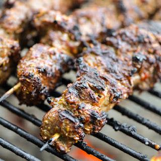Spicy Cumin Lamb Skewers.