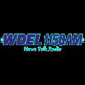 1150AM WDEL logo