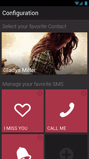 【免費通訊App】Quick Favorite SMS Widget-APP點子