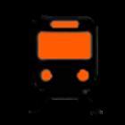 Orange Line Boston Subway MBTA icon