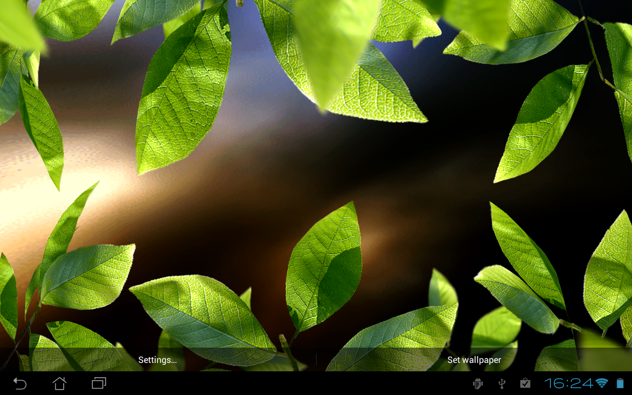 Fresh Leaves - screenshot