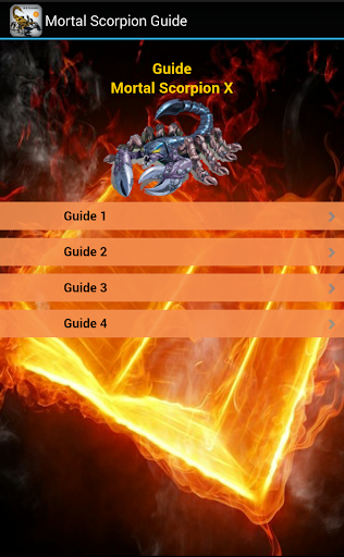 Mortal Scorpion Guide