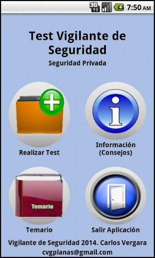 Test Vigilante de Seguridad