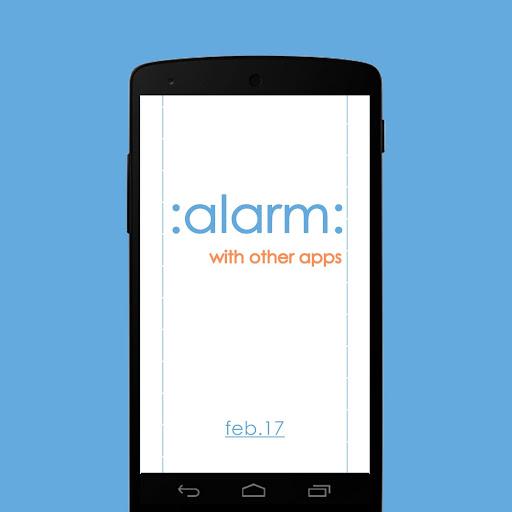 ALARM - 자동 어플 실행